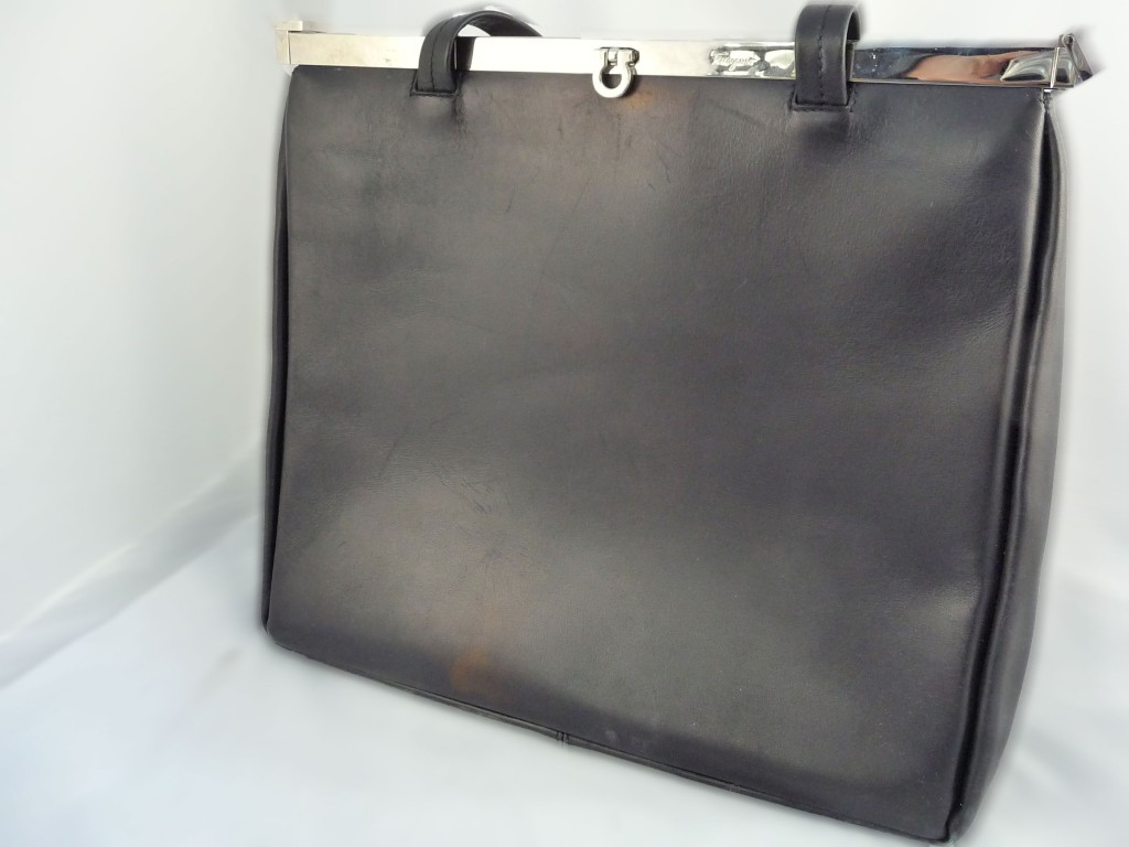 Black Vintage Ferragamo Bag Giveaway