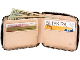 Billykirk zip wallet