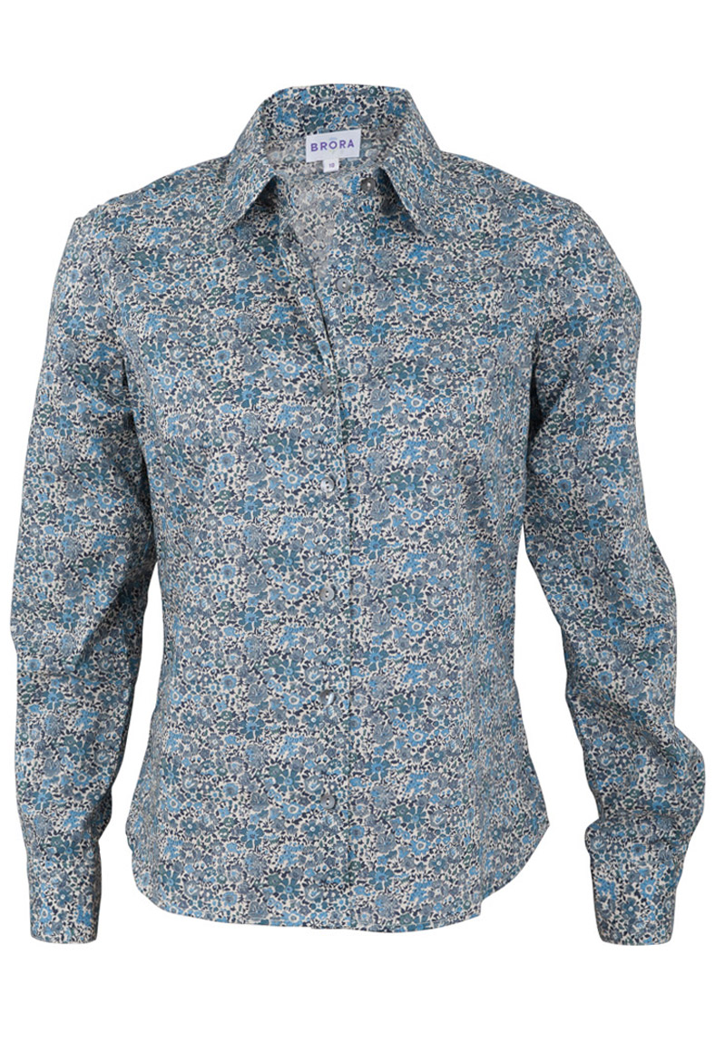 Liberty of London, women's shirt, cotton lawn