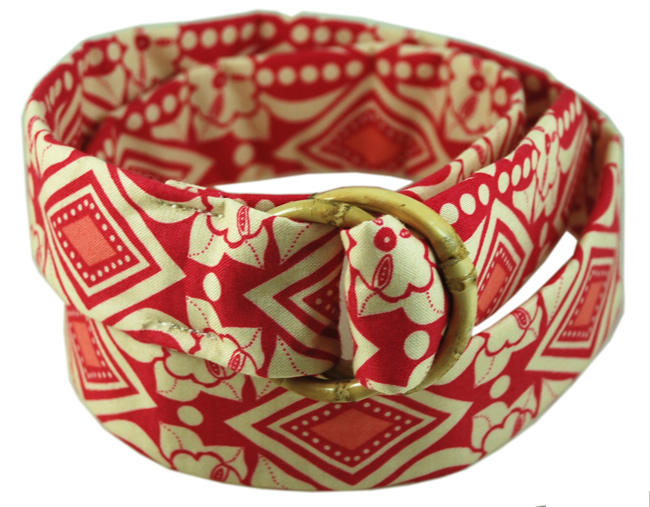 Eliza B. Fabric Belt