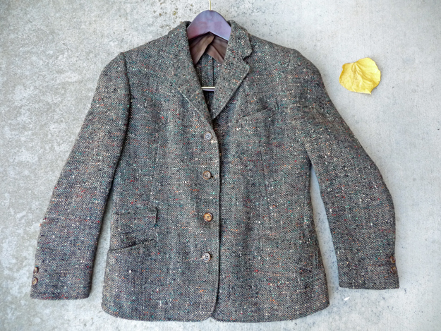 Authentic Harris Tweed Jacket from the 1940s