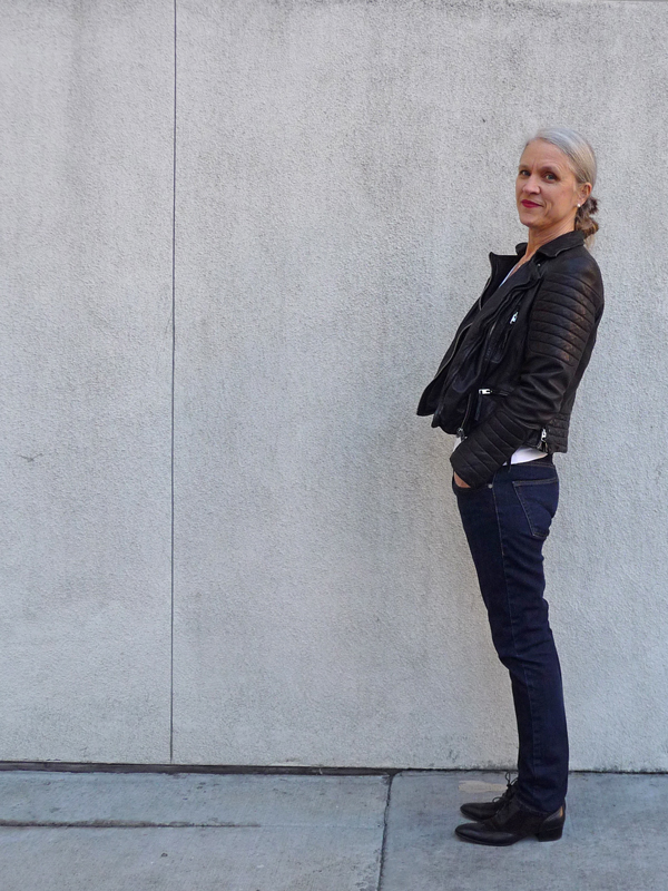 Middle-Aged-Lady-In-A-Biker-Jacket
