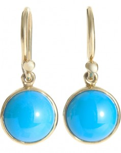 Turquoise Earrings from Barneys