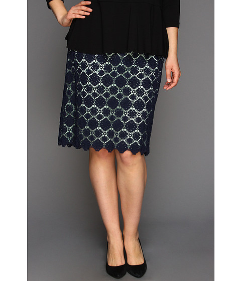 Vince Camuto Plus Size Lace Skirt