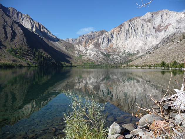 Convict Lake in August
