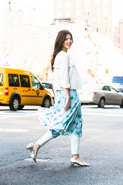 Refinery 29 Skirt Over Pants