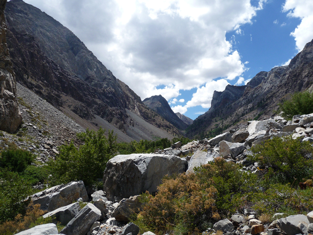 Scree-Above-Convict-Lake