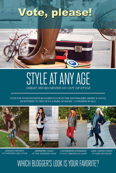 Style At Any Age, Naturalizer