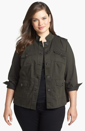 Nordstrom Vince Camuto Field Jacket Plus Size