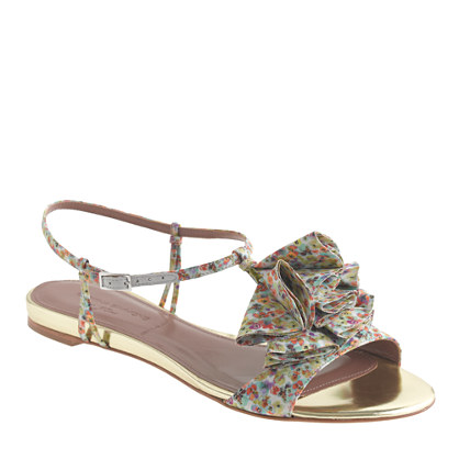 Liberty of London Gold-Edged Sandals