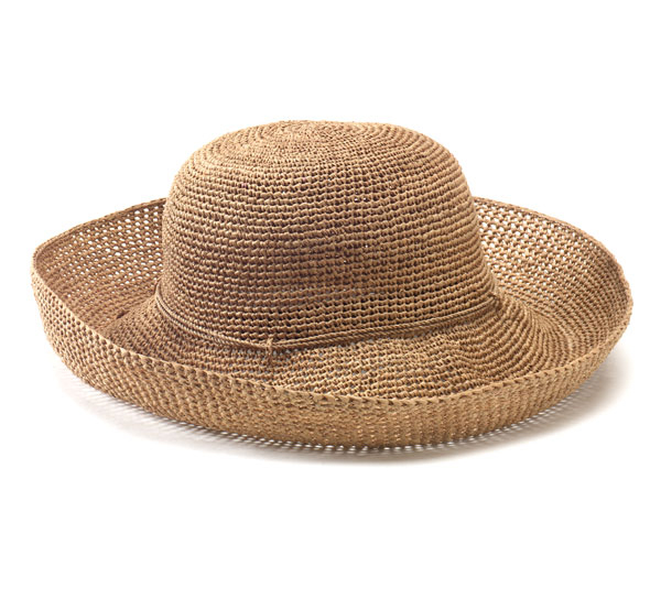 Packable Sun Hat, Brimmed Straw Hat