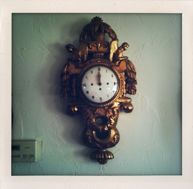 Antique Swedish Clock