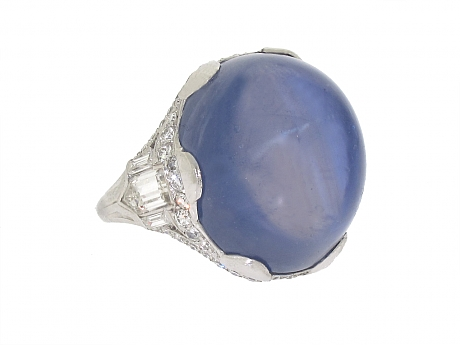 Beladora-Art_Deco_Star_Sapphire_and_Diamond_Ring_in_Platinum-0-460x346