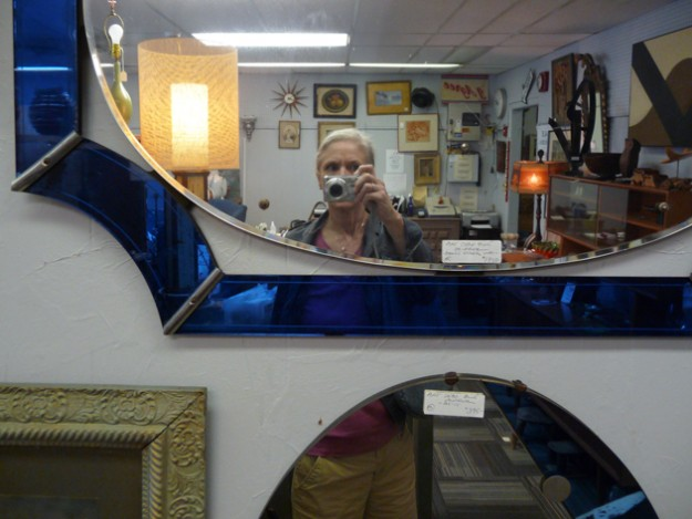 Self-Portrait-In-Junk-Shop