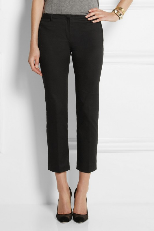 Black denim from Victoria Beckham