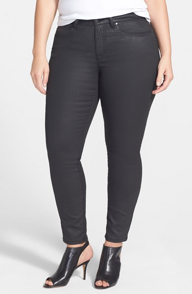 Plus Size Black Denim from Eileen Fisher