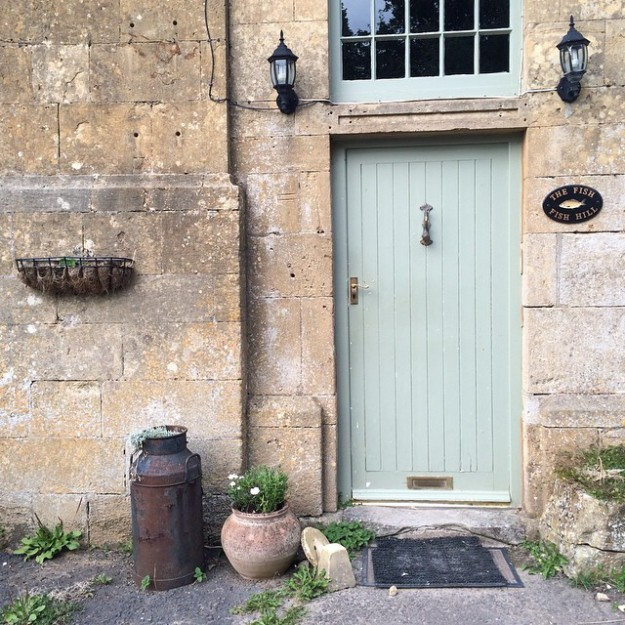 Door in the Cotswolds
