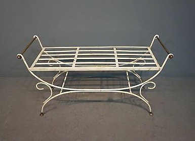 Hollywood Regency Bench on eBay