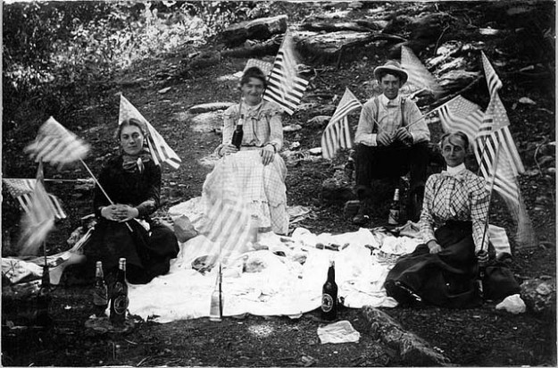 Fourth of July Picnic, Rogers, Arkansas via Missouri State Archives