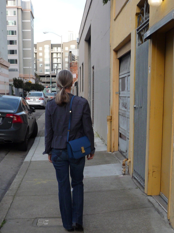 Walking-Away-with-Celine-Bag