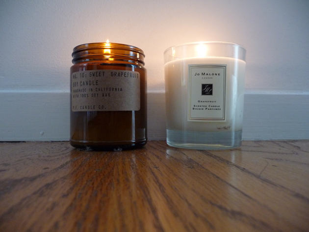 Jo-Malone-Grapefruit-vs.-P.F.-Candle-Company-Sweet-Grapefruit-#4