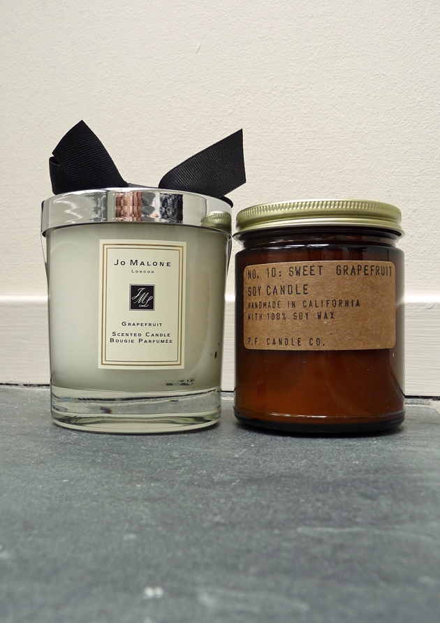 Jo-Malone-Grapefruit-vs.-P.F.-Candle-Sweet-Grapefruit-#2