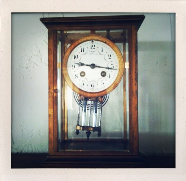 Tiffany's Clock