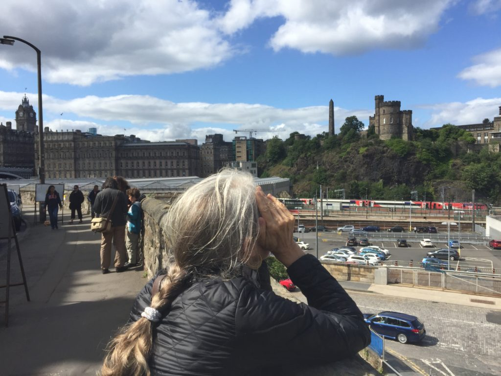 Traveling in Edinburgh at 60