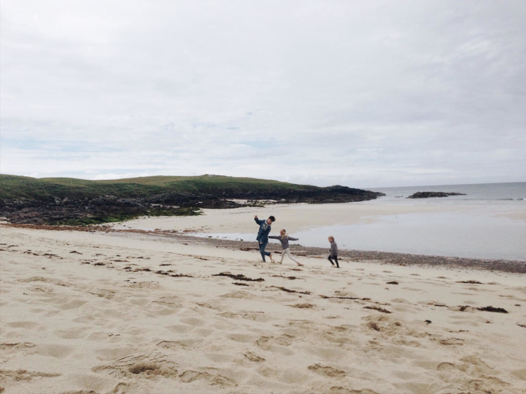 Family photography in the Hebrides